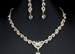 New bridal jewellery set for glamour women